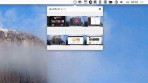 QuickShot für OS X: Manager für die OS-X-eigene Screenshot-Funktion
