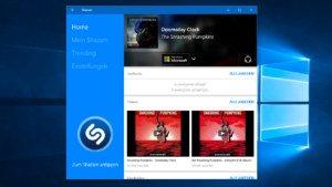 Shazam mit neuer App für Windows 10 und Cortina-Integration