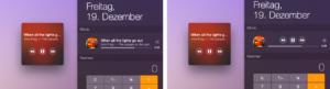 Silicio für den Mac: Mini-Player und Widget für iTunes