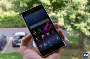 Sony Xperia Z2 im Test: Sexy, wasserdicht und 4K-Videoaufnahmen