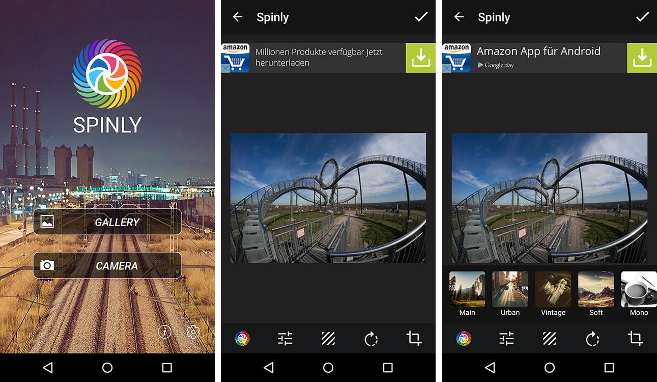 spinly für android möchte eure bilder und fotos verschönern