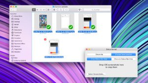 Status Barred für OS X entfernt die Status­leiste in iOS-Screenshots