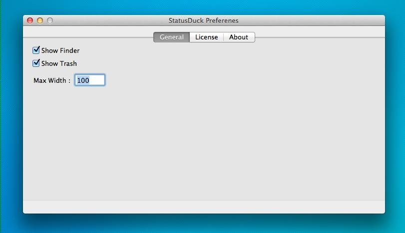 statusduck-macosx-settings