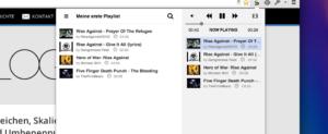 Streamus: YouTube-Player als Chrome-Erweiterung ermöglicht einfaches Streaming