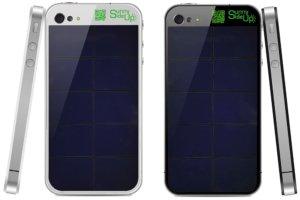 SunnySideUp: Solar-Backcover ersetzt die Rückseite des iPhone 4/4S, iPhone 5 folgt