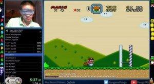 [Friday Fun] 🙈 Super Mario blind durchgezockt!