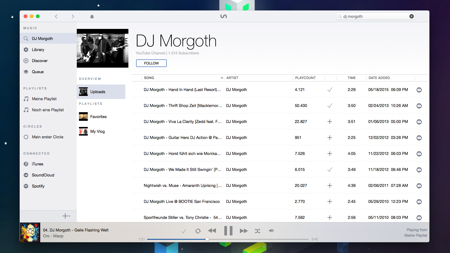 how to play spotify music with itunes ios