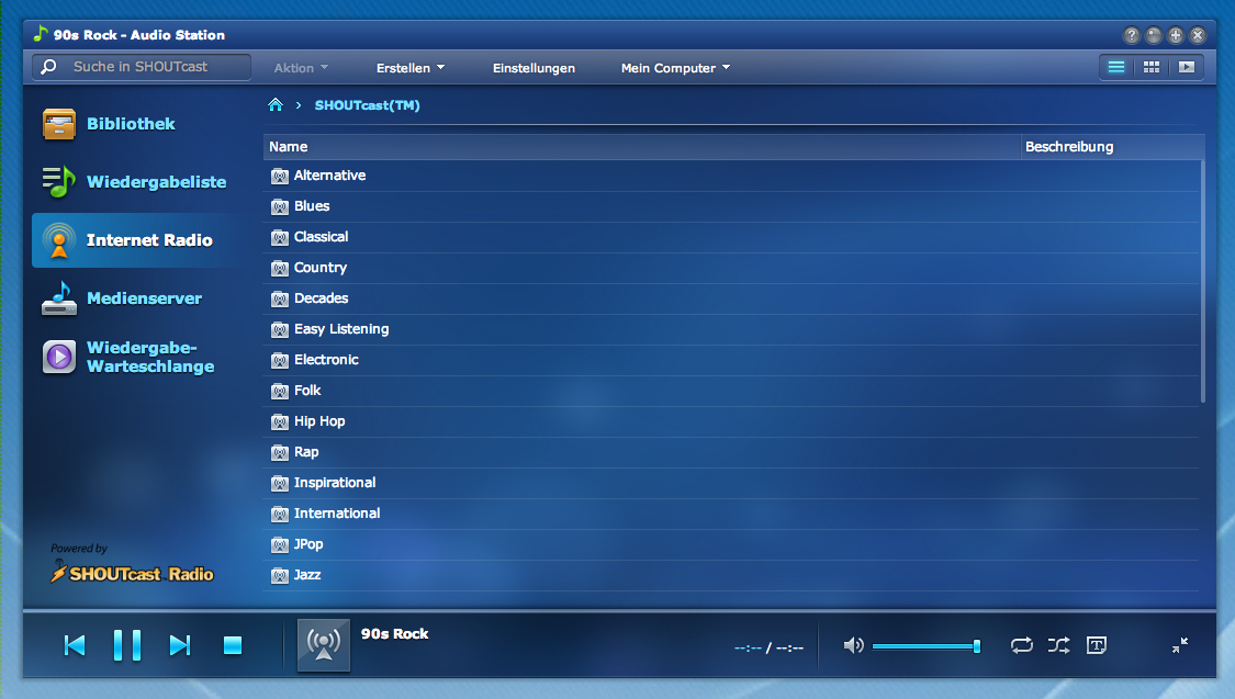 Audio Station Synology