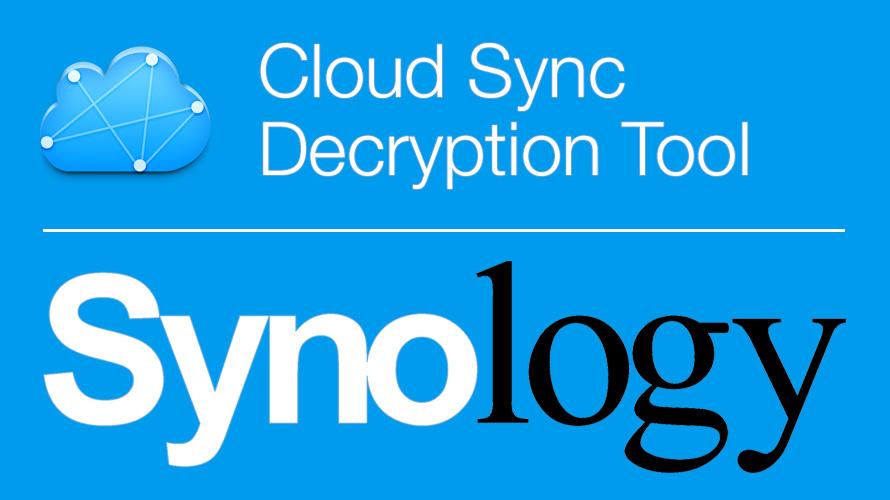 Synology DiskStation und der Cloud Sync: Verschlüsselte