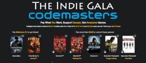The Indie Gala: 7 + 1 Spiele von Codemasters für einen Preis eurer Wahl