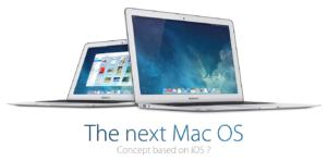 Der nächste bitte: Noch ein Mac OS X Konzept im Stile von iOS 7