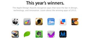 Apple Design Award 2013: Dies sind die Sieger-Apps des Jahres 2013