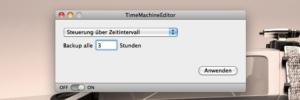 TimeMachineEditor: Time Machine einfach konfigurieren