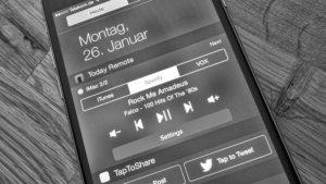 TodayRemote für iOS: Widget steuert die Musikwiedergabe auf eurem Mac