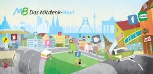 Kostenlose Navigations-App für Android und iOS: M8 – Das Mitdenk-Navi