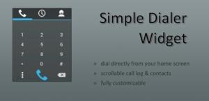 Simple Dialer Widget · Widget lässt euch vom Android-Homescreen aus telefonieren