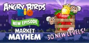 Angry Birds Rio HD für's iPad derzeit kostenlos im App Store