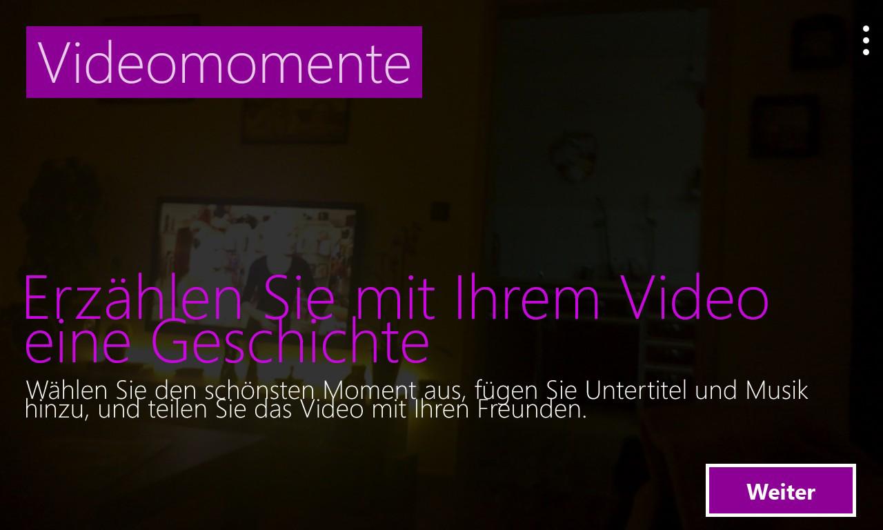 videomomente