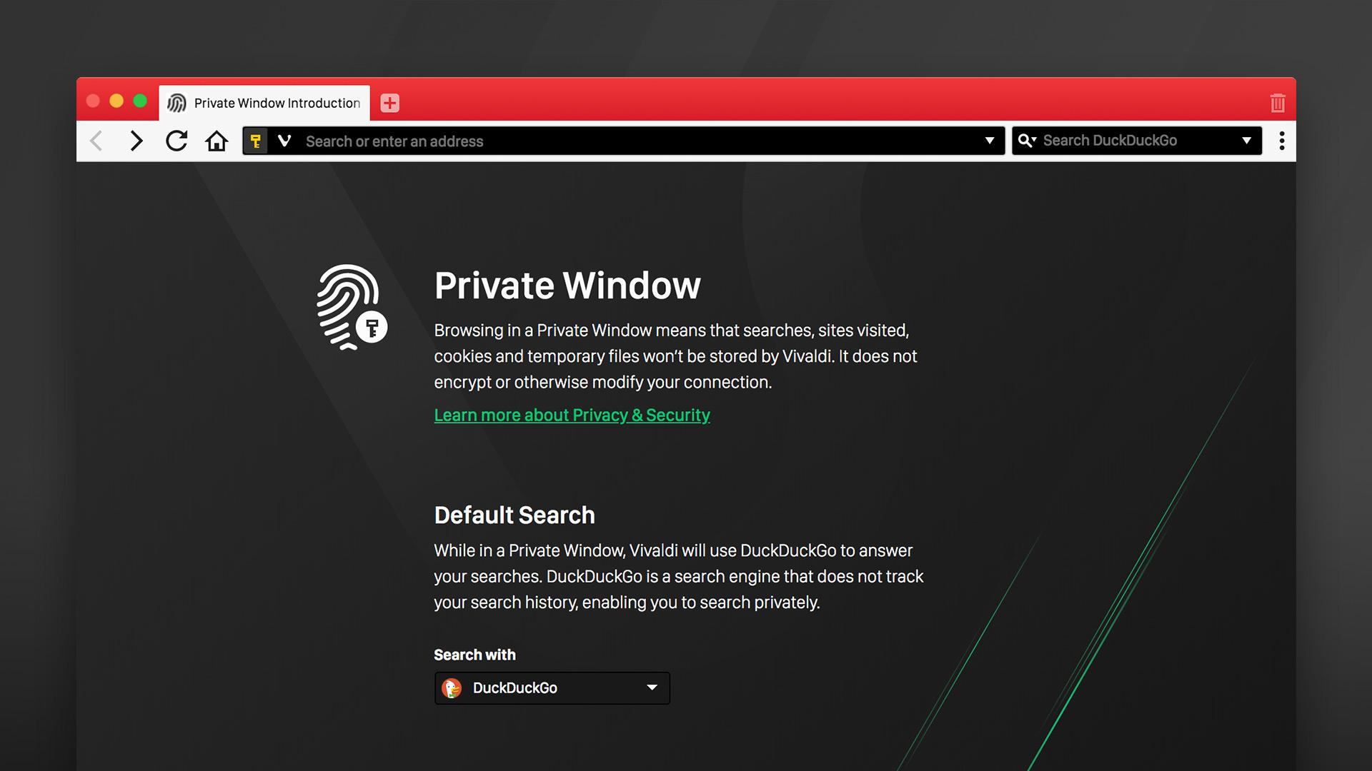Vivaldi Browser DuckDuckGo nun Standard Suchmaschine im privaten ...