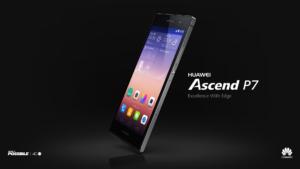 Huawei Ascend P7 offiziell vorgestellt