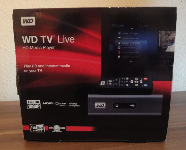 WesternDigital TV Live HD im (privaten) Kurztest