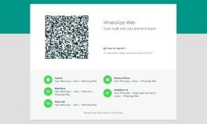 WhatsApp: Web-Client verfügbar. Aber ein bisschen scheiße ist es schon.