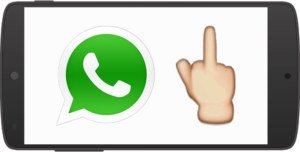 WhatsApp: Stinkefinger-Emoji kann unter Android genutzt werden