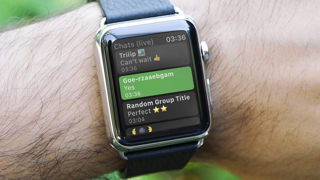 WhatsApp auf der Apple Watch: Das gilt es zu wissen