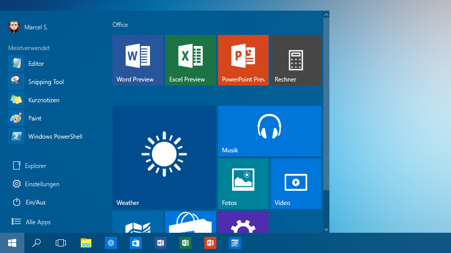withborder windows-10-set-color-taskbar-startmenu-2