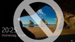 Windows 10: Sperrbildschirm/Lockscreen deaktivieren