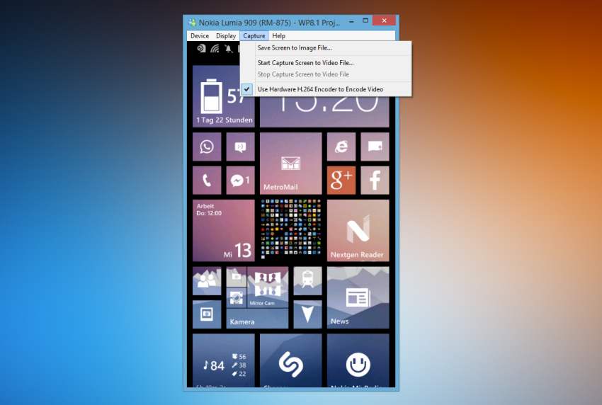 windowsphonescreenrecording