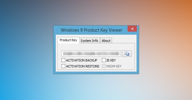 windows product key viewer linux
