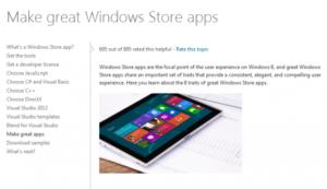 Microsoft: Metro-Apps werden zu Windows-Store-Apps