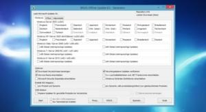 WSUS Offline Updater erhält Update auf Version 8.5: Service Pack 2 für MS Office 2010 und Bugfixes