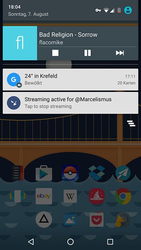 Android: Y Music spielt YouTube-Videos im Hintergrund und