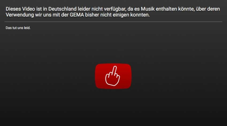 youtubenichtverfuegbar