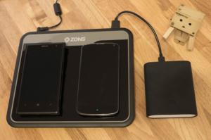 Zens ZEDC01B angeschaut: Duales Qi-Ladegerät für zwei Geräte