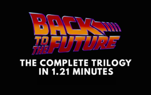[Friday Fun] Die Zurück in die Zukunft Trilogie in 81 Sekunden